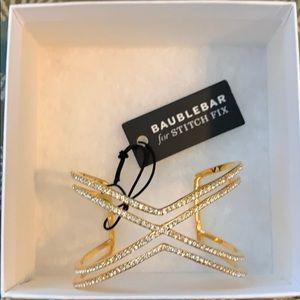 Bauble Bar for stitch fix wrist cuff